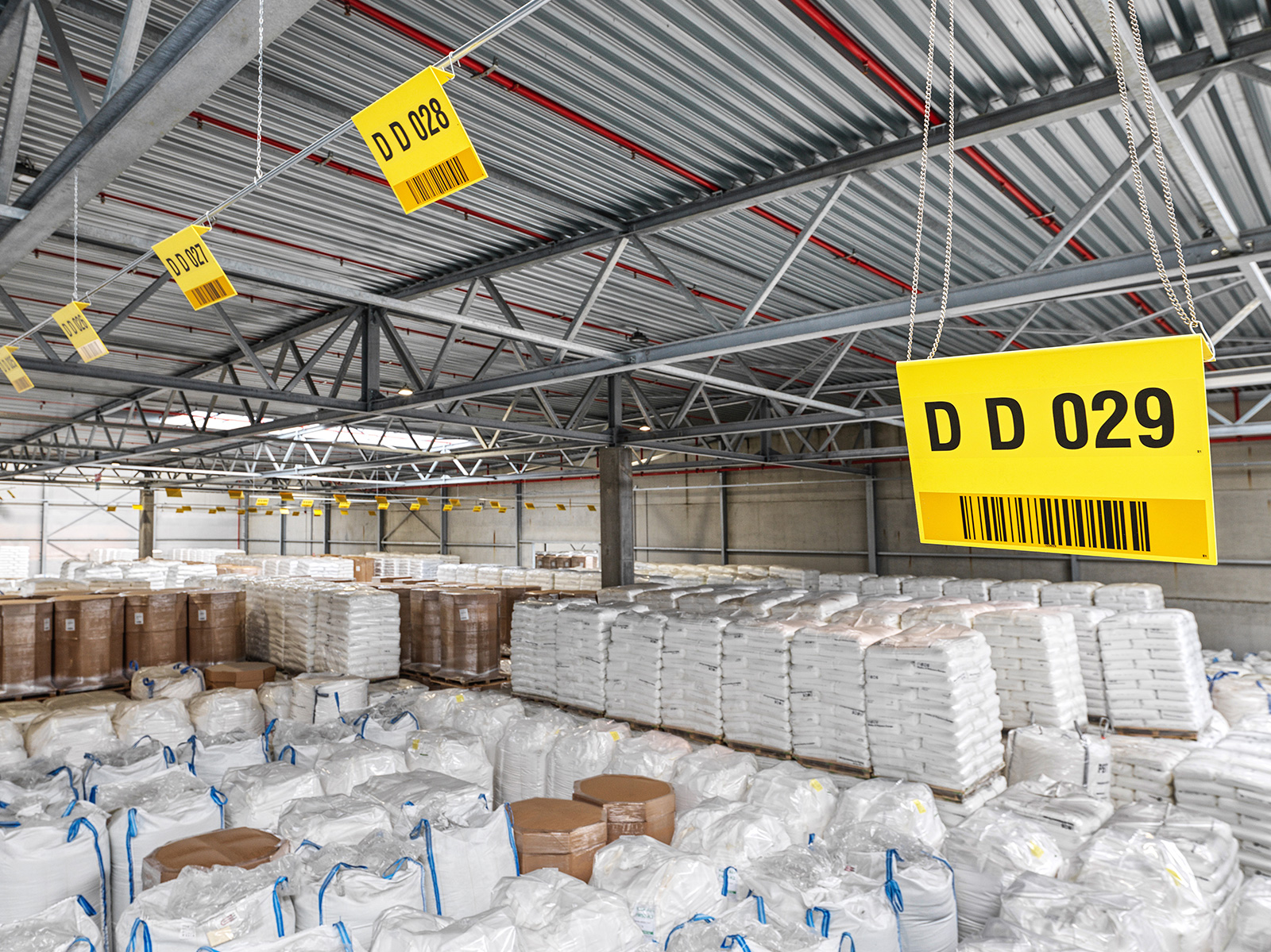 Storage of packaged goods